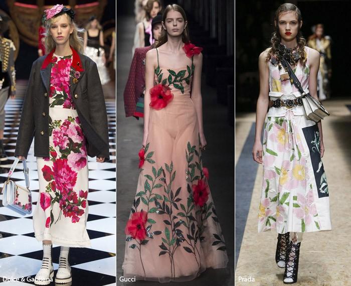 5 – fashion florals